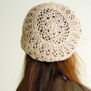 Accessories - Unique handmade lace hat